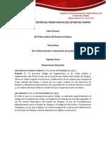 0db8codigo de Organizacion Del Poder Judicial Del Estado de Chiapas