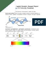 5 Spectroscopy