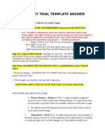 Right to Jury Trial Template Answer Key 2