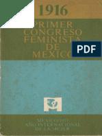 1916 Primer Congreso Feminista de Mexico.pdf