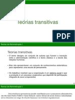 Teorias transitivas da Administração