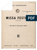 Missa Festiva Partitura Completa