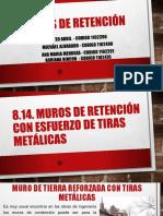 Muros de Retencion Con Esfuerzo de Tiras Metalicas