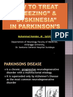 How to Treat Freezing & Dyskinesia in Parkinson CNE 2015