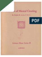 Mental Creating