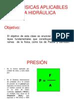 Leyes Fisicas Aplicables a La Hidraulica