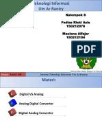 Konversi Digital to Analog Dan Analog to Digital