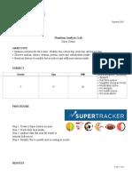food analysis final pdf
