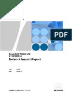 SingleRAN WiMAX LTE Network Impact Report (V100R001C00_Draft a) 20110805 a 1.0