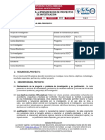 Mi-Inv-fo-10 Presentacion de Proyectos de Investigacion