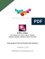 Unity AvPro Video