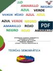 TEORIAS DEMOGRAFICAS 2016