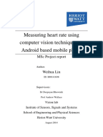 Heart Rate Measure Android MSc Thesis
