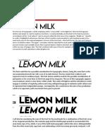 font testing document