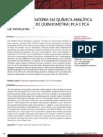 Quimiometria - PCA - Análise exploratoria