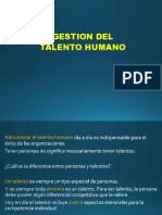 177375582 Gestion Del Talento Humano I Ppt