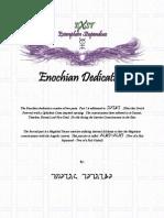 Enochian Dedication