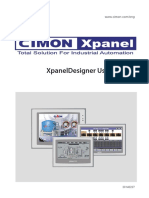 Cimon XpanelDesigner User Manual