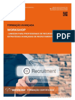 Workshop Linkedin Para Profissionais de Recursos Humanos Estrategias Avancadas de Recrutamento e Learning Brochura