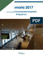 Aeropuerto El Tepual de Puerto Montt - EEFF 2017