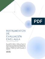 Instrumentos de Evaluación Educativa