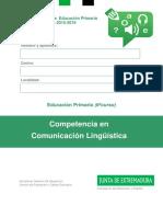 Evaluación 6º Comun Ling Extremadura