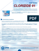 Ficha Tecnica Clorizide 91