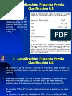 Evaluación Ultrasonogáfica de La Placenta