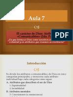 Aula 7 Atributos Comunicables II