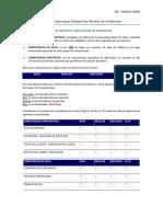 Instrucciones Para Estimar Los Niveles en El Informe