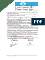 01 FTS Seminar Guide 2018