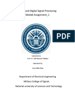 ADSP Assignment