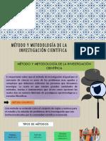 Tema6 Método y Metodología de La i. c.