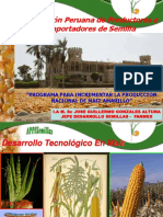 Uso de Híbridos de Maiz Amarillo Duro