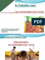 PALESTRA ERGONOMIA NA CONSTRUÇÃO CIVIL - SEGURANÇA DO TRABALHO NWN.pptx
