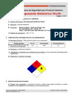 Isl-sgsso-mp-006 Desengrasante Dielectrico Wurth - 23890 15 6 (Esp)