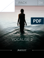 GP04 Vocalise 2 User Manual