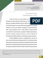 Gehm, T. P. (2013). O Desenvolvimento Sob a Ótica Da Análise Do Comportamento