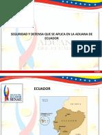 Exposicion Seguridad y Defensa - Ecuador