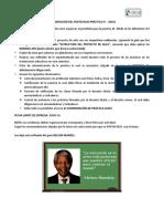 Organización Del Portafolio Práctica III