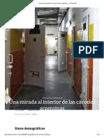 Una Mirada Al Interior de Las Cárceles Argentinas - LA NACION