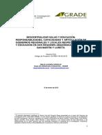 GRADE-Descentralizar_salud_y_educacion. Articulación de GR y GL