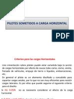 Pilotes Carga Horizontal 2013
