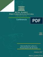 Intermediación Laboral y Tercerización de Servicios