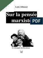 ALTHUSSER, 'Sur la pensée marxiste'.pdf