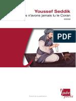 Nous n'avons jamais lu le Coran.pdf