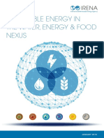 IRENA Water Energy Food Nexus 2015