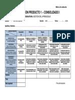 Rubrica Evaluación Proyecto Personal de Aprendizaje