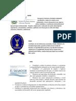 Instituciones Gubernamentales y No Gubernamentales Marn,Pddh,Mag, Fonaes, Mined, Pnc, Ong, Cesta, Unes