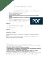 analisis organizacional 2017